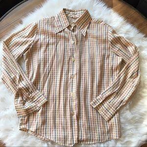 Vintage Striped Buttondown 🌾